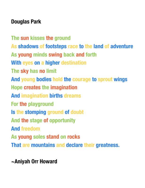 Word Play Way Activities For Douglas Park